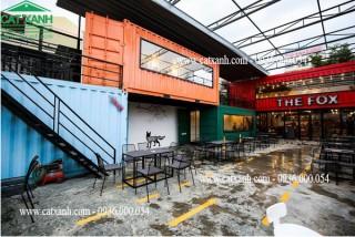 Mẫu thiết kế quán cafe container đẹp tại tỉnh Bình Thuận