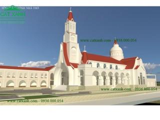 Công trình thiết kế nhà thờ đẹp tại BRVT