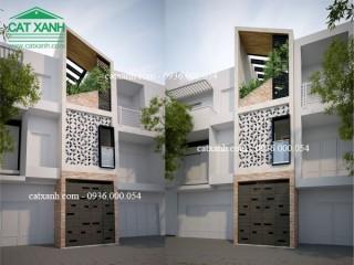 Tư vấn thiết kế nhà phố hiện đại mặt tiền 3,5m