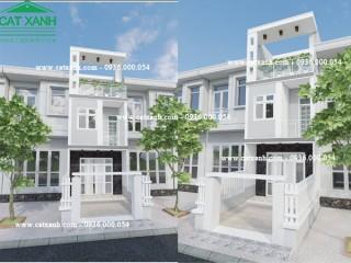 Tư vấn thiết kế nhà phố hiện đại mặt tiền 4m