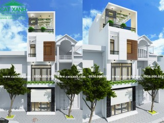 Tư vấn thiết kế nhà phố 3 tầng 1 tum hiện đại đẹp