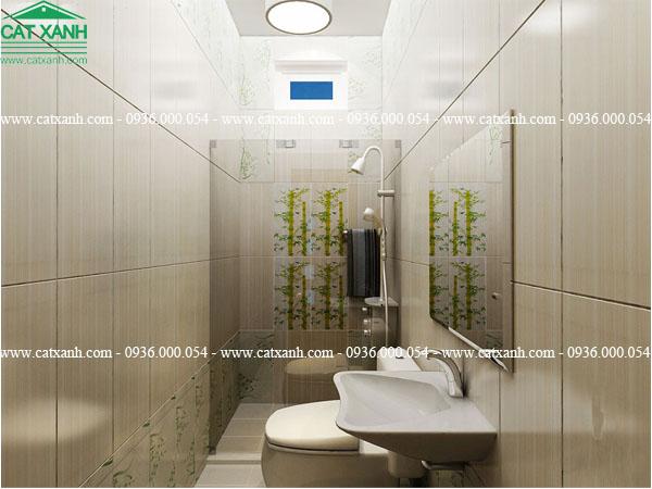 thiết kế nội thất phòng wc