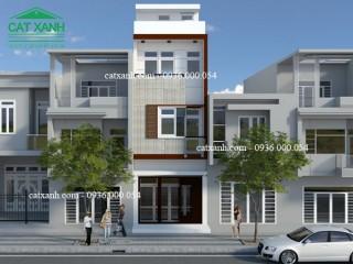 Tư vấn thiết kế nhà phố 3 tầng chị Trang Quận 9