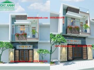 Mẫu thiết kế nhà phố hiện đại mặt tiền 4m