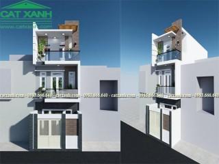 Mẫu thiết kế nhà phố 3 tầng được nhiều người ưu thích