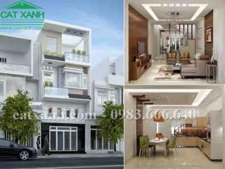 Tư vấn thiết kế nhà phố 3 tầng tại quận Tân Bình