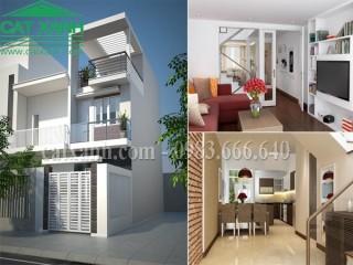 Tư vấn thiết kế nhà phố giá rẻ 4x16m tại quận Thủ Đức