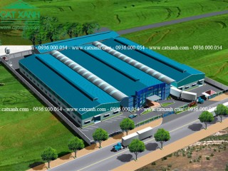 Tư vấn thiết kế xây dựng nhà xưởng thép tiền chế tại Đồng Nai