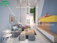 Mẫu thiết kế nội thất phòng bếp ăn đẹp 2017