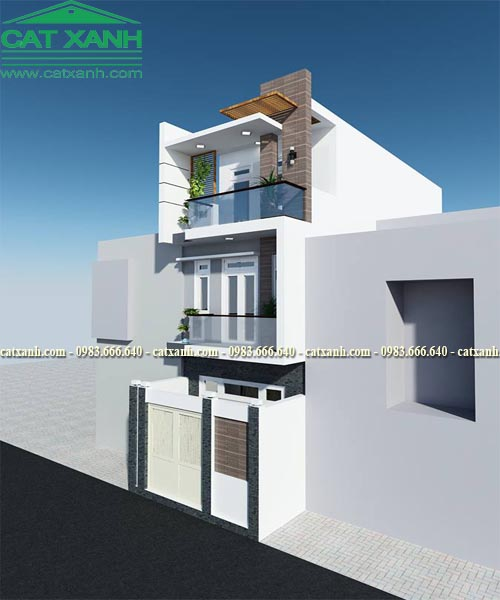 Mẫu thiết kế nhà phố 3 tầng được nhiều người yêu thích