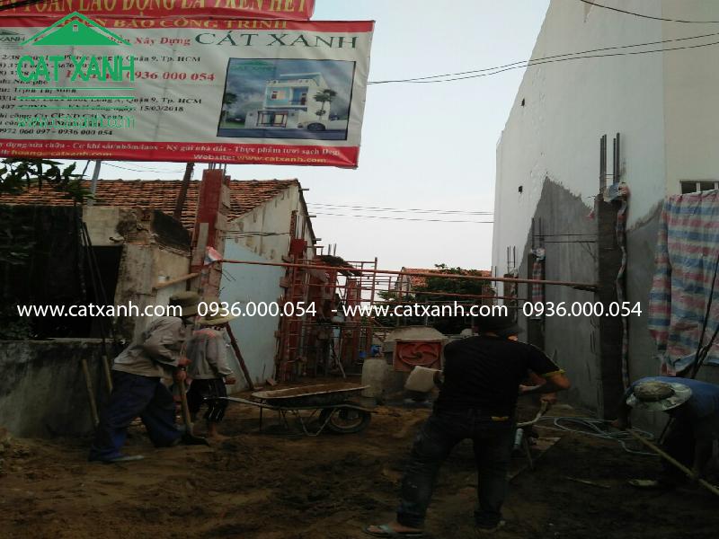 Thi công  xây dựng nhà phố