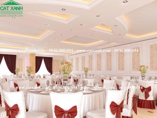 Thiết kế trung tâm hội nghị tiệc cưới tại quận 1