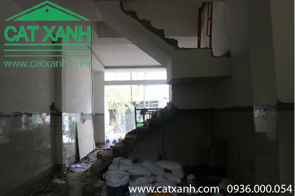 Thi công hoàn thiện nhà cô Minh quận 9