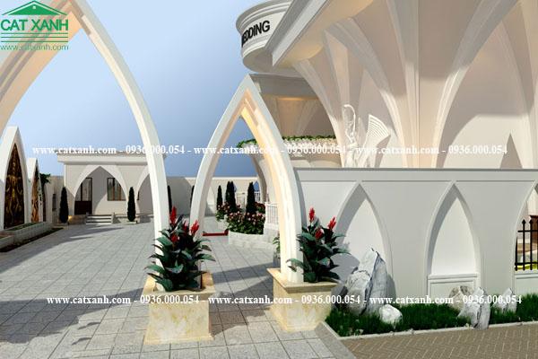 Tư vấn thiết kế trung tâm hội nghị tiệc cưới