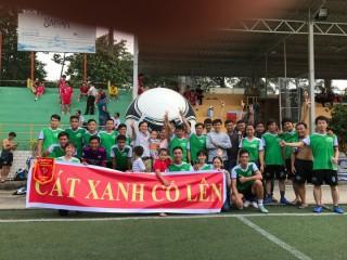 Trận bán kết giải bóng đá YBA Football Cup 2016