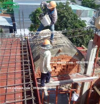 Thi công nhà phố Đồng Tháp